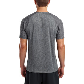 saucony Breakthru Short Sleeve Shirt Men, dark grey heather
